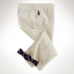 Calça Legging  | Ralph Lauren - Lacinho Off White