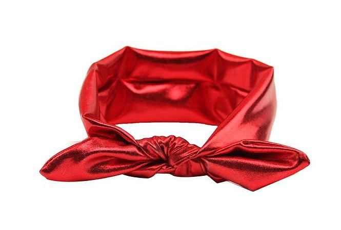 Faixinha turbante - Red