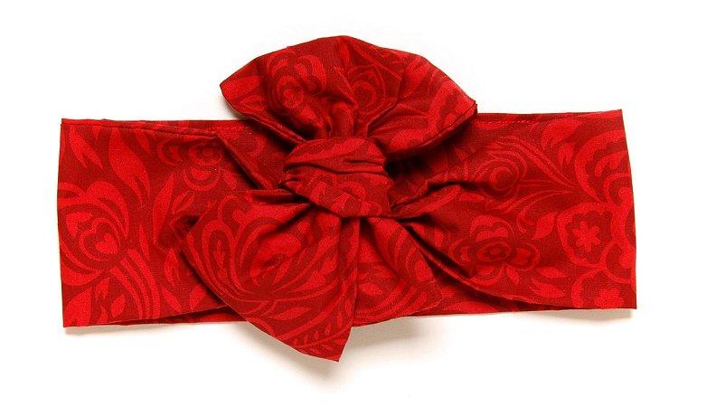 Headwrap | Maxilaço - Vermelho Floral