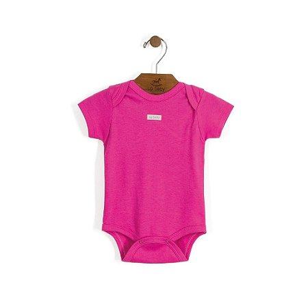 Body Manga Curta | Up Baby - Pink