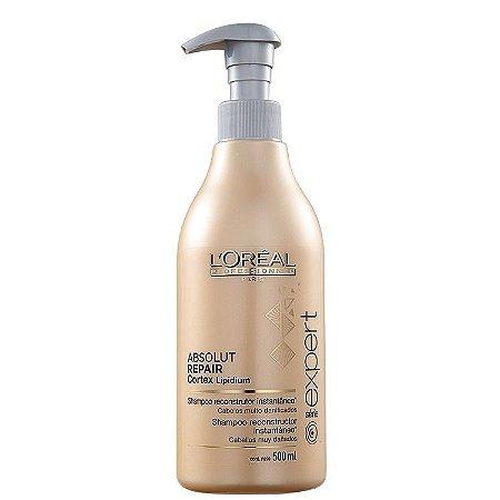 L'Oréal Professionnel Absolut Repair Cortex Lipidium Instant Reconstructing - Shampoo 500ml