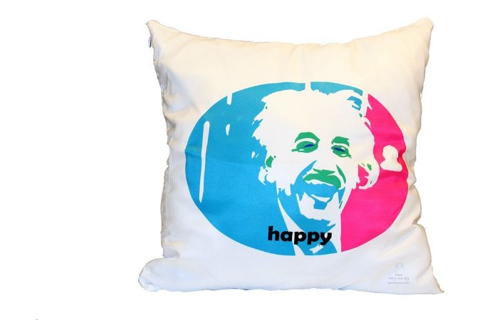 Einstein capa de Almofada