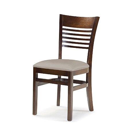 Cadeira Santiago Assento Estofado Fendi 4.2.930