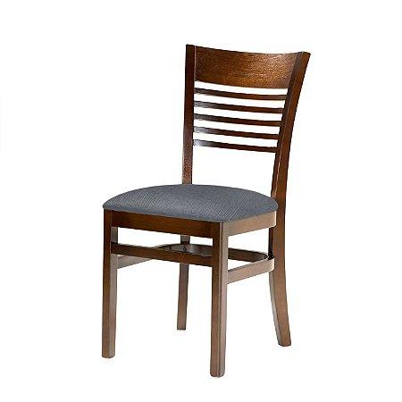 Cadeira Santiago Assento Estofado Grafiatto 4.2.487