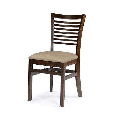 Cadeira Chicago Assento Estofado Bege 4.2.923