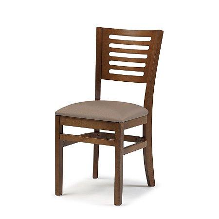 Cadeira Lina Assento Estofado Nude 4.2.929