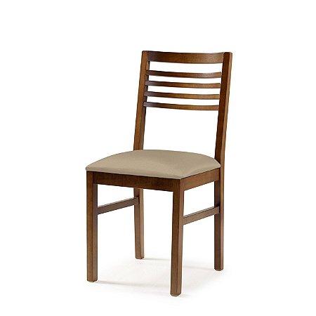 Cadeira Buenos Aires Assento Estofado Bege 4.2.923