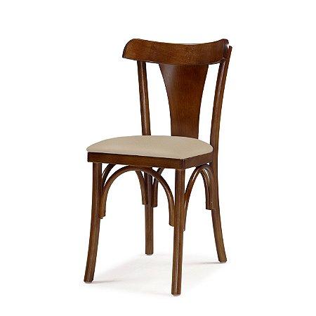 Cadeira Nice Assento Estofado Bege 4.2.923