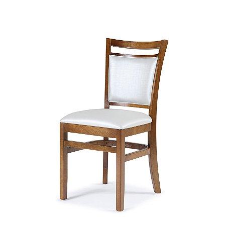 Cadeira Montreal Assento e encosto Estofado Branco 4.2.154