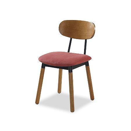 Cadeira Joy Assento Estofado