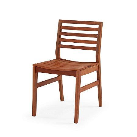 Cadeira Capri cor Mogno