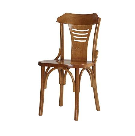 Cadeira Nevoy Castanho assento multilaminado