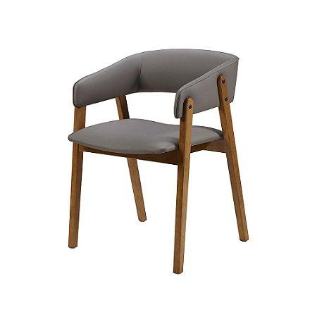 Cadeira Contemporanea Assento E Encosto Estofado