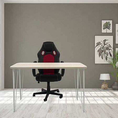 Mesa e Cadeira Gamer Raptor Para Home Office
