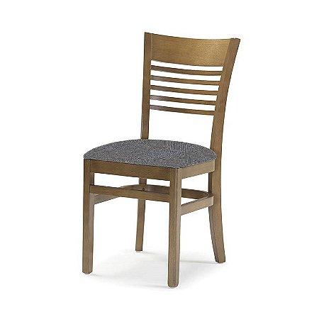 Cadeira Santiago Carvalho Assento Estofado