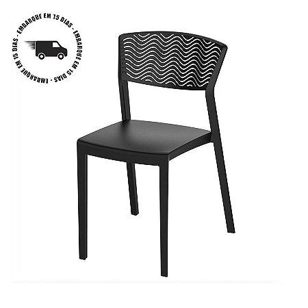 Cadeira DUNA polipropileno Empalhável