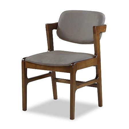 Cadeira Certitude Assento e Encosto Estofado