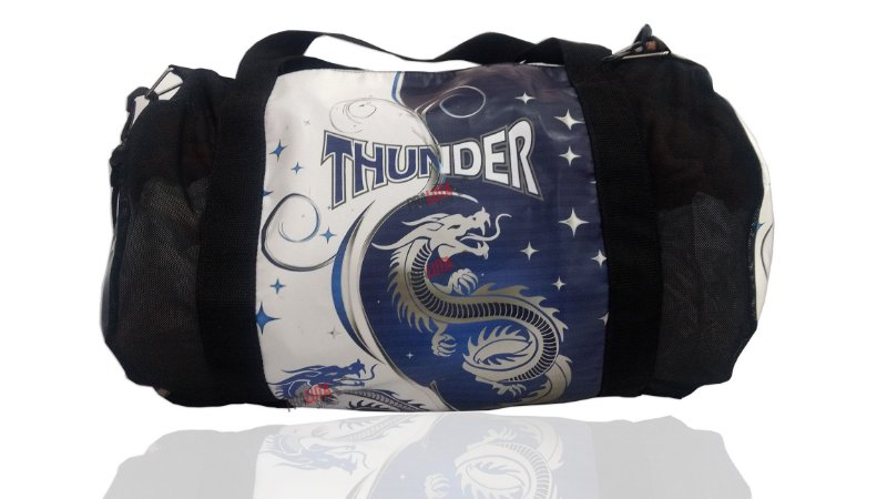 Bolsa para Equipamentos Pequena Dragão Azul Thunder Fight