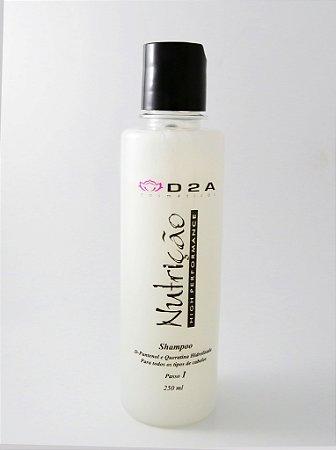 Shampoo Nutrição Higienizante D2A - Linha Home Care - 250ml