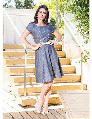 Vestido Fabiana - 9768 - Joyaly