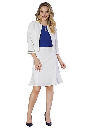 Conjunto com saia e tailler | Joyaly | Moda Evangélica