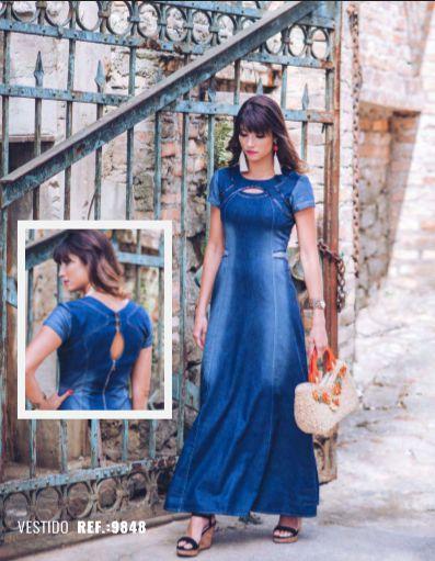 Vestido Longo Verona - 9848 - Joyaly