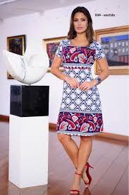 Vestido Cashimire Azulejo - 934 - Cassia Segetti