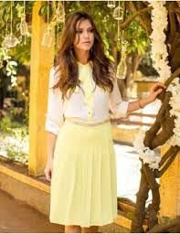 Saia Pregas | Linda Valentina | Moda Executiva