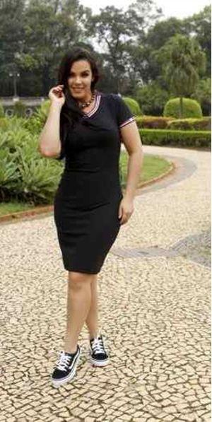 Vestido Malha Canelada - 5822 - NK3