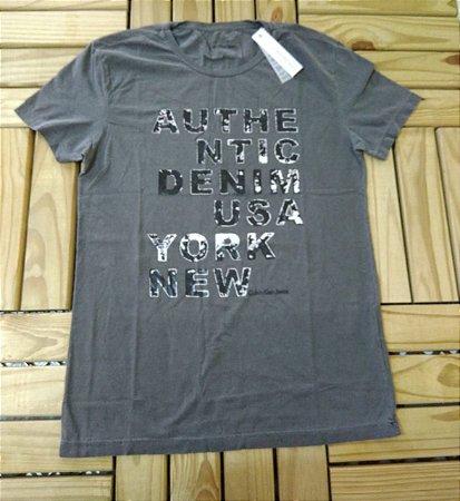 Camiseta T-shirt Cinza CK