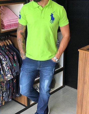 Camisa Gola Polo RL Verde