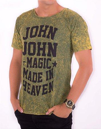 Camiseta T-Shirt Verde JJ-14