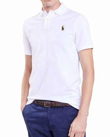 Camisa Gola Polo RL Logo Multicolor