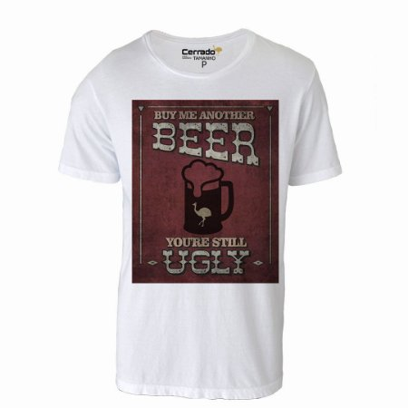 Camiseta Gola Básica Cerrado Brasil - Buy Me Another Beer