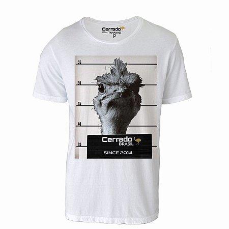 Camiseta Gola Básica Cerrado Brasil - Ema