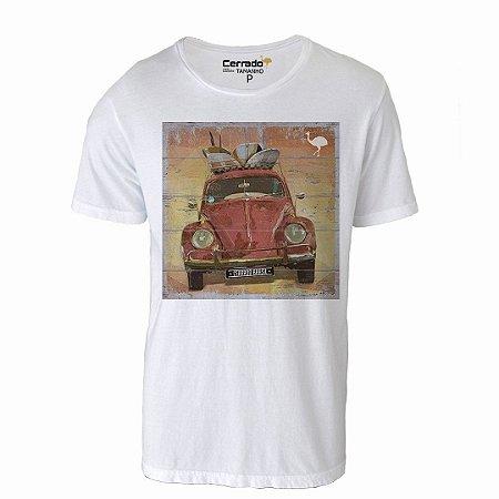 Camiseta Gola Básica Cerrado Brasil - Fusca