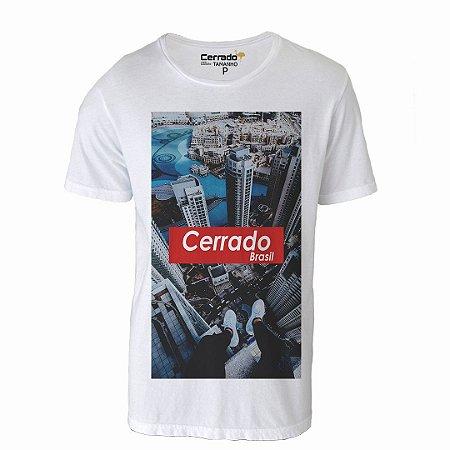 Camiseta Gola Básica Cerrado Brasil - Supreme