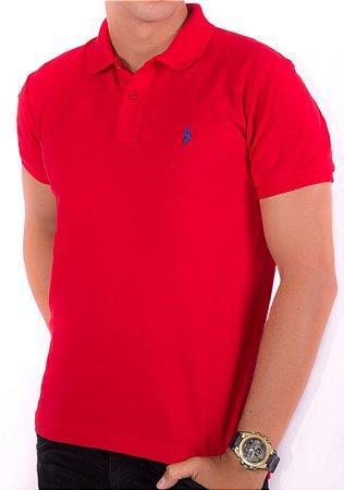 22c0de004 Camisa Gola Polo RL Vermelha - Outlet - Roupas e Calçados