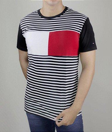 Camiseta T-Shirt TH Listrada