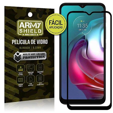 Película de Vidro 3D Moto G30 Fácil de aplicação - Armyshield