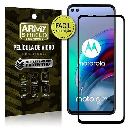Película de Vidro 3D Moto G100 5G Fácil de aplicação - Armyshield