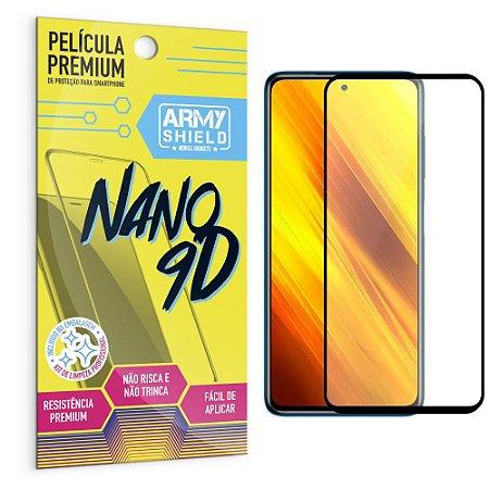 Película Poco X3 Premium Nano 9D - Armyshield