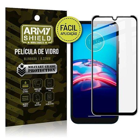 Película de Vidro 3D Moto E7 Fácil de aplicação - Armyshield