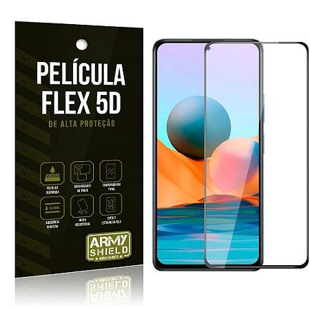 Película Flex Redmi Note 10 Pro Não Quebra Cobre a Tela Toda Blindada - Armyshield