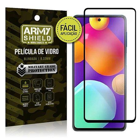 Película de Vidro 3D Samsung M62 Fácil de aplicação - Armyshield