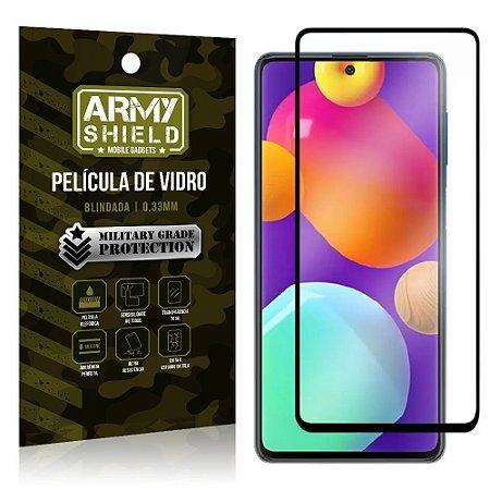 "Película de Vidro Samsung M62 Blindada para tela 6,7"" Full Cover - Armyshield"
