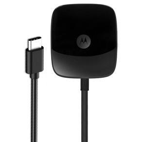 Carregador de Parede Turbo Motorola USB Tipo C