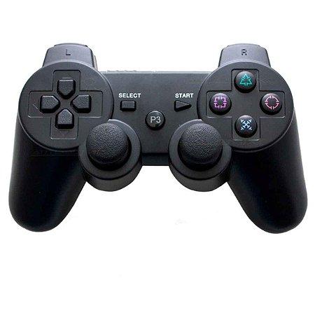 Controle Doubleshock Bluetooth Compatível com PS3