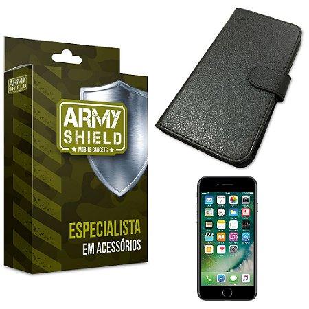 Capa Carteira Iphone 7 - Armyshield