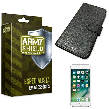 Capa Carteira Iphone 6 plus / 6S Plus - Armyshield